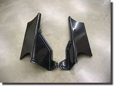 RACING GO KART G MAN BODY KIT PANELS  #4 OFF SET ADULT BLACK PLASTIC PAIR 2 NEW