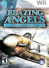 Blazing Angels Squadrons of WWII Nintendo Wii 2007 video game TEEN Ubisoft