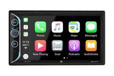 DUAL Double DIN Apple CarPlay Bluetooth Digital Media Car Stereo | DAC1025BT