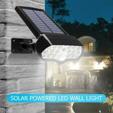 LED Solar Powered Wall Lamp Waterproof Garden Outdoor Courtyard Street Light