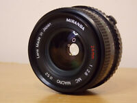 Miranda 24mm F2.8 Super Wide Angle Lens Olympus OM FIT Made in Japan