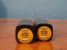 (Lot Of 2) Maybelline Revitalizing Lip Color Lipstick Cream Nectarine 4E357