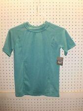 EVERLAST Boy's XL 18-20 Teal Cross Dye Short-Sleeve Tee / T-Shirt FREE Shpg NWTA