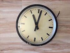 Reloj Pared Medio IBM industrial modernista Bauhaus Vintage Antiguo