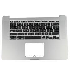 "New listing Us New For Macbook Pro Retina 15"" A1398 2013 Backlit Top Case Palmrest Keyboard"