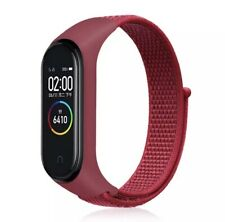 Recambio Pulsera Actividad Xiaomi Mi Band 4 3 Smartwatch Correa Reloj Rojo Roja