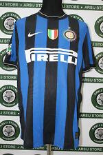 Maglia calcio INTER MILITO TG L 2009/10 shirt trikot maillot jersey camiseta