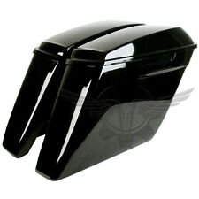 2014-2017 No Exhaust Cutouts Stretched Harley Davidson Extended Saddlebags