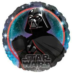 Star Wars Party Darth Vader  Round Helium  Foil Balloon 18 inches