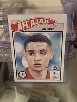 2020 Topps Living Set Antony Rookie RC #238 Ajax UEFA Champions League UCL