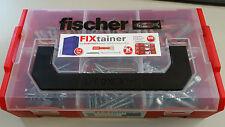 ***FISCHER*** FIXtainer DUOPOWER Dübel & Schrauben, 210-tlg. Set, Universaldübel