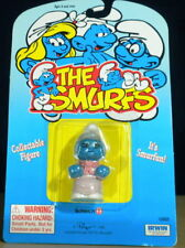 Smurfs Grandma Nanny Smurf Grandmother Figure Vintage PVC Toy Lot Peyo MOC 20408