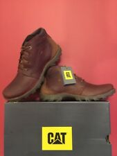 🆕Mens CAT Caterpillar Transform Leather Boots Brown Size Uk 12 BRAND NEW BOXED