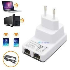 Wireless-N Mini Router Repeater Booster WIFI Range IEEE 802.11 b/g/n 300Mbps ZH