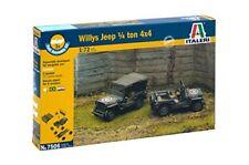 Willys Jeep 1/4 Ton 4x4 Fast Assembly 1 72 Ita7506 - Italeri modellismo
