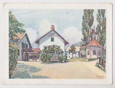 St. Andrä bei Villach, Gasthof Schöffmann - Künstlerkarte Trexler 1929
