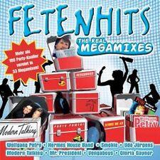FETENHITS - THE REAL MEGAMIXES * NEW  2CD'S * NEU *