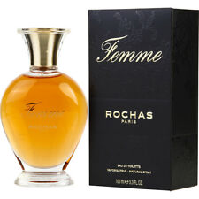 ROCHAS FEMME 100ml EDT SPRAY FOR WOMEN BY ROCHAS ------------------- NEW PERFUME