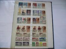 IRELAND (ÉIRE). A COLLECTION OF STAMPS WITH NICE CANCELS#2