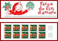 France carnet 1998 Croix-Rouge, Fêtes de fin d'année, non-plié, B2047 (3199a) **