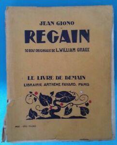 REGAIN JEAN GIONO LE LIVRE DE DEMAIN Ref 302464458801