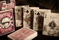 Bicycle ESCAPE MAP Spielkarten, Kartenspiel mit tollem Motiv  NEU!!! Made in USA