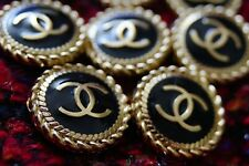 STAMPED VINTAGE CHANEL BUTTONS LOT OF 10 Ten