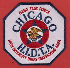 CHICAGO ILLINOIS  HIDTA DRUG TASK FORCE POLICE DEA SHOULDER PATCH