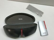 Prada Case Sunglasses Hard Gray New Eyeglasses Sunglass