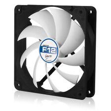 Arctic Cooling F12 120mm Arctic F Low Noise PC Computer Case Fan (Black / White)