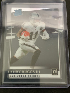 Henry Ruggs III - 2020 Panini Chronicles - Clearly Donruss Rated Rookie