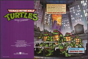 Teenage Mutant Ninja Turtles__Orig. 1989 Trade AD / poster__Golden Harvest__TMNT