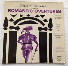 VINYL LP : CARL SCHURICHT conducts ROMANTIC OVERTURES - Weber - Mendelssohn etc