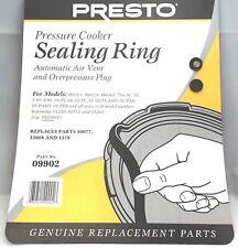 Presto Pressure Cooker Sealing Ring Gasket For 6 Qt, 09902