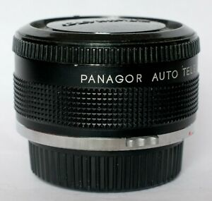 Panagor 2x teleconverter to fit Olympus OM.