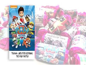 Paw Patrol Mini Love Hearts Sweets Party Bag Fillers Kids Childrens #17