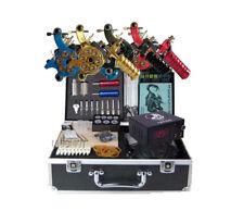 New Complete Tattoo Kits Equipment 4 High Quality Tattoo Machine Set Supplies