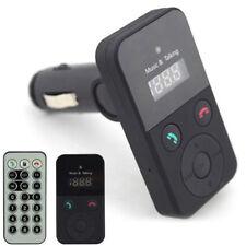 Black Wireless Bluetooth FM Transmitter Modulator Car Kit MP3 Player SD USB LCD