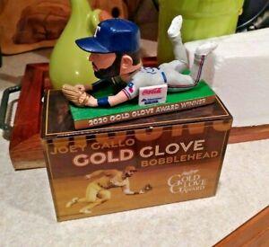 JOEY GALLO BOBBLEHEAD GOLD GLOVE SGA 7/31/21 NEW YORK YANKEES TEXAS RANGERS NEW