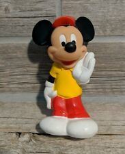 New listing Walt Disney Mickey Mouse Rubber Playskool Baby Toy Squeezable Vintage