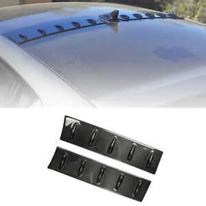 For Hyundai Veloster 2011-2016 Roof Trunk Spoiler Wing Flap Real Carbon Fiber
