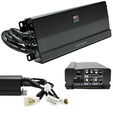 Mb Quart Na2-500.5 500W Na2 Series Class-D 5-Channel 2-Ohm Stable Amplifier