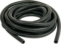 Black Engine Dressing Conduit 7mm x 5M, SPLIT LOOM, WIRING CONDUIT, CABLE TIDY