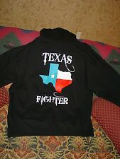 Execution Fight Gear TEXAS MMA Mixed Martial Arts Boxing USMC Hoodie Jacket