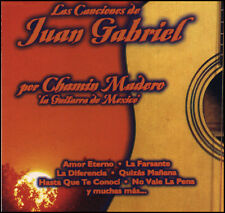 "CHAMIN MADERO ""Canciones De Juan Gabriel""  NEW CD *(Awesome Instrumental Guitar)"