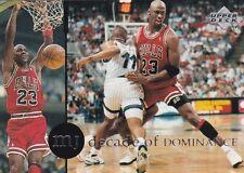 CHICAGO BULLS MICHAEL JORDAN 1994 UPPER DECK RARE AIR #78 DECADE OF DOMINANCE