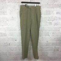Men's John Lewis Stone Pure Linen Trousers Regular Fit BNWT RRP £80 Size 30R