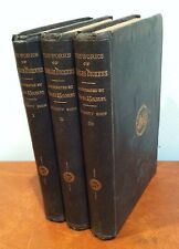 """Antique Charles Dickens Household Edition """"Old Curiosity Shop"""" Vol. 1-3 1863"""
