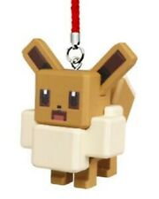 Pokemon - Pokemon Quest Mascot Gashapon Keychain - Eevee
