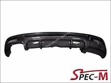 2008-2013 BMW E82 1 Series M Tech P Style Rear Bumper Diffuser Carbon Fiber - CF
